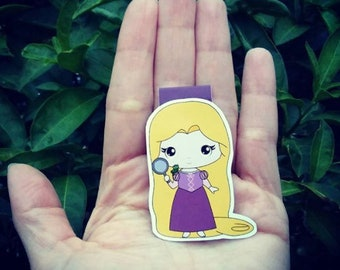 Magnetic Bookmarks - Rapunzel
