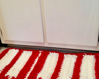 Red Piano Rug