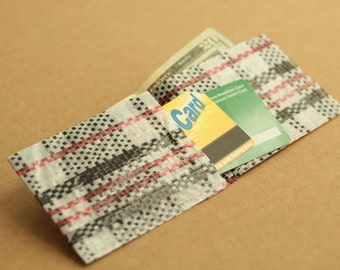 wallet DIY pattern for sewing printable PDF beginner mens wallet