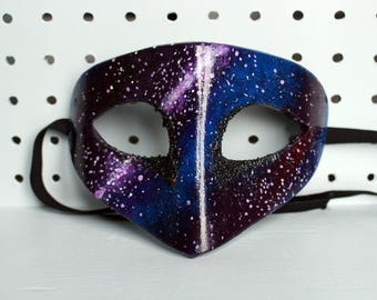 Hand painted EVA foam galaxy mask
