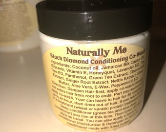Co-Wash Conditioning  Black  Diamond  4oz , 8 oz and 16 oz