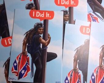 """Bree Newsome """"I Did It."""" Sticker"""