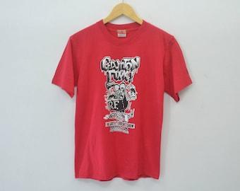 RATFINK Shirt Vintage RATFINK Ed ''Big Daddy'' Roth Surf Cube Equipment With The Artist MOONEYES Tee T Shirt Size S