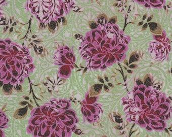 Pastiche, In the Beginning Fabrics, Jason Yenter, Rose Vine, Pink
