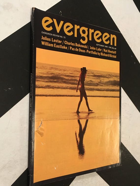 Evergreen Review/ Volume 13/ No. 70 vintage grive press counterculture (Softcover Magazine: September, 1969)