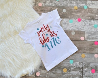 Girls 4th of July Shirt Fourth of July shirt Kids 4th of July Shirt 4th of July Tee Fourth of July Tee Kids Merica Shirt Girls Fourth Shirt
