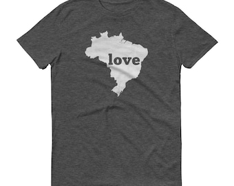 Brazil, Brazil Shirt, Made in Brazil, Brazil Tshirt, Brazilian T Shirt, Brazil Clothing, Brazil Love, Brazil Gifts, Brazil Map, Brazilian