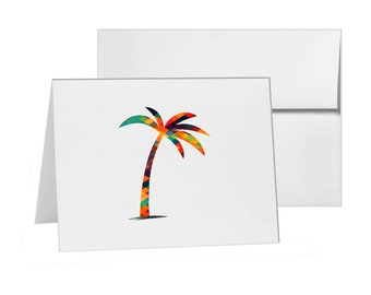 Palm Tree Palm Tree, Blank Card Invitation Pack, 15 cards at 4x6, with White Envelopes, Item 323321
