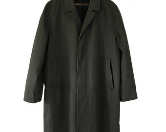 Trench Coat Army Green
