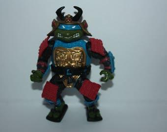 Teenage Mutant Ninja Turtles TMNT Leo Sewer SAMURAI Action Figure 1990 Playmates