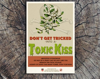 Don't Get Tricked Into a Toxic Kiss // Postcard