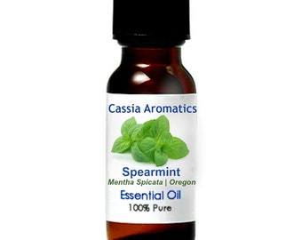 Spearmint Essential OIl Certified Pure Grade 100% Pure choose your size
