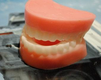 Handemade False Teeth Soap - Dentures, Practical Joke, Gag, Prank