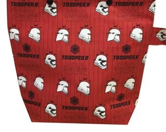 Star Wars   Stormtroopers Sock Knitting Project Bag   Knitting Bag   Crochet Bag   Storage Bag