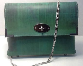Clutch purse with chain ( square)