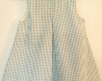 Blue Gingham Sundress, Size 3