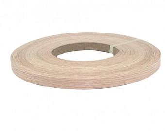 """Red oak non glued ( 1/2"""" TO 3""""X500' ) wood veneer edgebanding"""