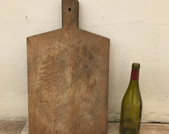 ANTIQUE VINTAGE FRENCH bread or chopping cutting board wood 2403183