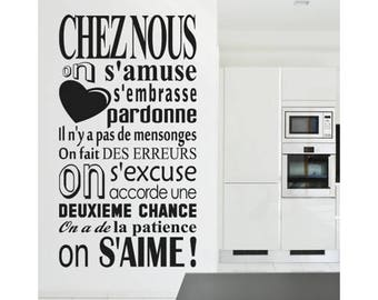 Wall decals from us we love