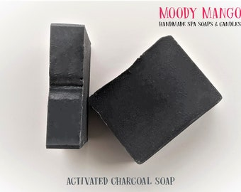 No4. Handmade 'ACTIVATED CHARCOAL' Soap