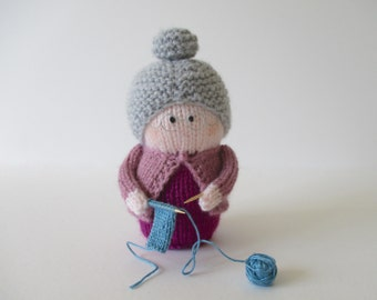 Granny toy doll knitting patterns