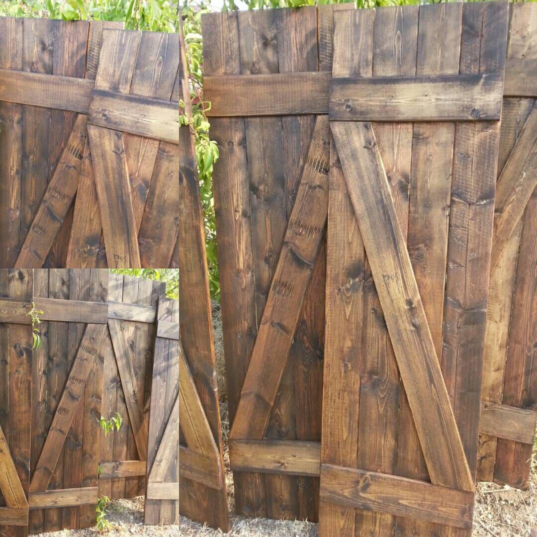 Z Bar Rustic Wood Shutters 48 Decorative Shutters