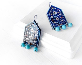 AREZOO earrings - Persian jewelry