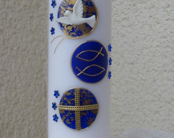 Christening - confirmation candle - candle