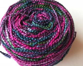 Beaded Rayon Variegated Novelty Yarn