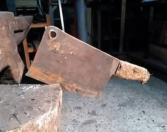 Post-apocalyptic butcher axe