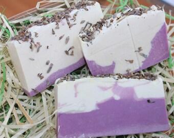 ShopGreenJoy Organic Lavender Bar Soap Natural lavender soap Cold processed soap Bar soap lavender Vegan bar soap Lavender bar soap Lavender