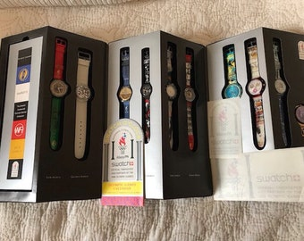 Swatch Olympic Legend set SZS03