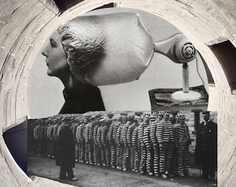 Surreal Art Orginal Artwork Digital Download Wall Decor Collage Art