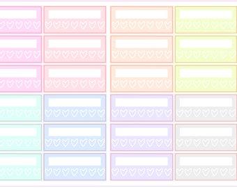 Spring Multicolor- Habit Tracker