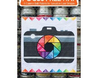 Focus Freeway a Camera  Quilt Pattern by Sassafras Lane Designs