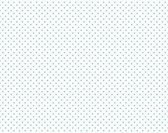 Swiss Dots - C660-20 Aqua
