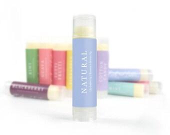 Natural Lip Balm | Handmade Lip Balm, Natural Lip Care, Beeswax Lip Balm, Shea Butter Lip Balm, Lip Butter