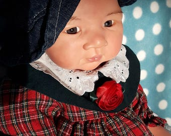 Asian reborn doll, Jasmin kit