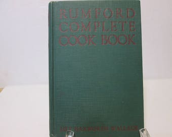 Rumford Complete Cookbook by Lily Haxworth Wallace