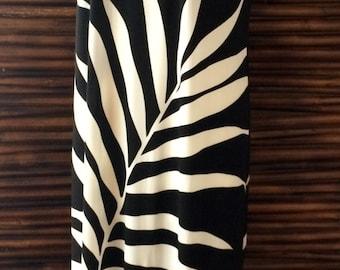 Black and White Long Tank Dress