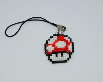 Mario mushroom strap
