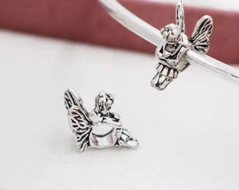 Pandora charms Angel fairy wings guardian angel charm for all Pandora charm bracelets pandora necklaces sterling silver jewellery craft