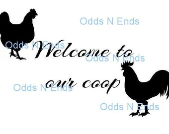 Welcome to our coop SVG