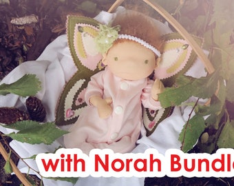 Fairy Pattern BUNDLE 1 (includes Preemie Norah pattern)