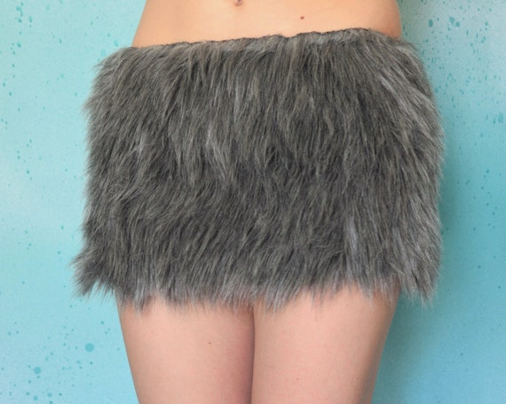 Faux Fur Skirt