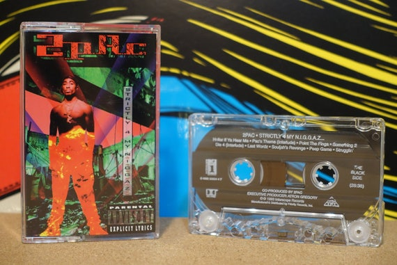 Strictly 4 My Niggaz by 2Pac Vintage Cassette Tape