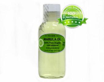 4 OZ Marula Seed Oil Pure Organic Cold Pressed