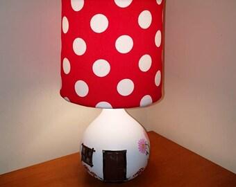 Fairy Toadstool Lamp