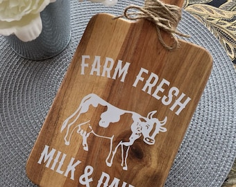 Farm Fresh Milk & Dairy