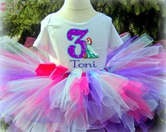 Little Mermaid Birthday Tutu - Ariel Tutu Outfit